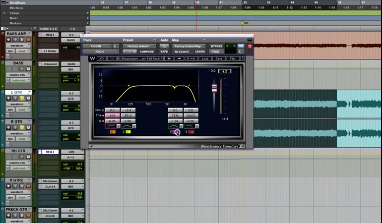 How to EQ Heavy Guitars (video)